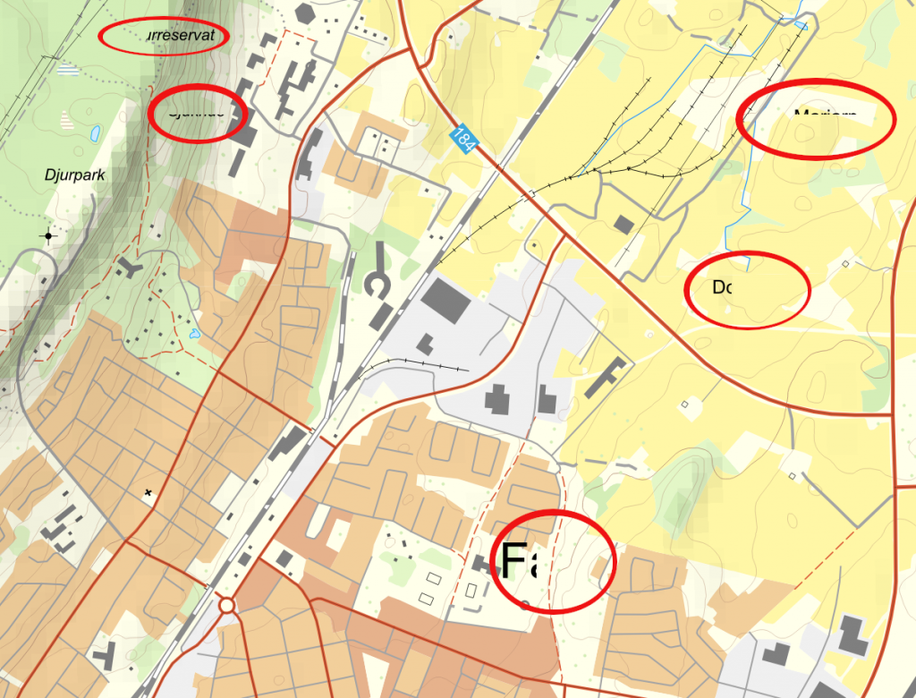 """Skapa """"tiles"""" med QGIS – Geosupportsystem"""